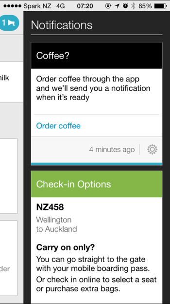 Air New Zealand Getting Mobile Right