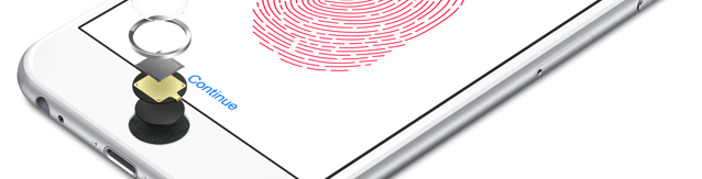 Touch ID promo shot