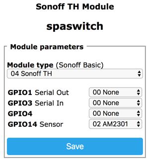 Tasmota Sensors