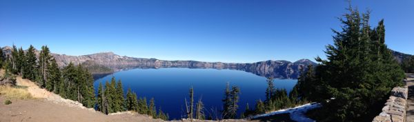The serenity of Crater Lake National Park