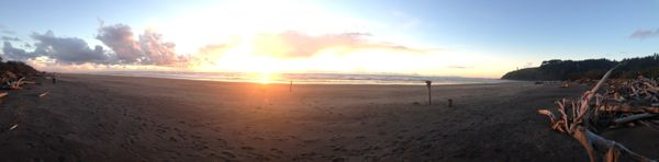 Sunset at Cape Disappointment